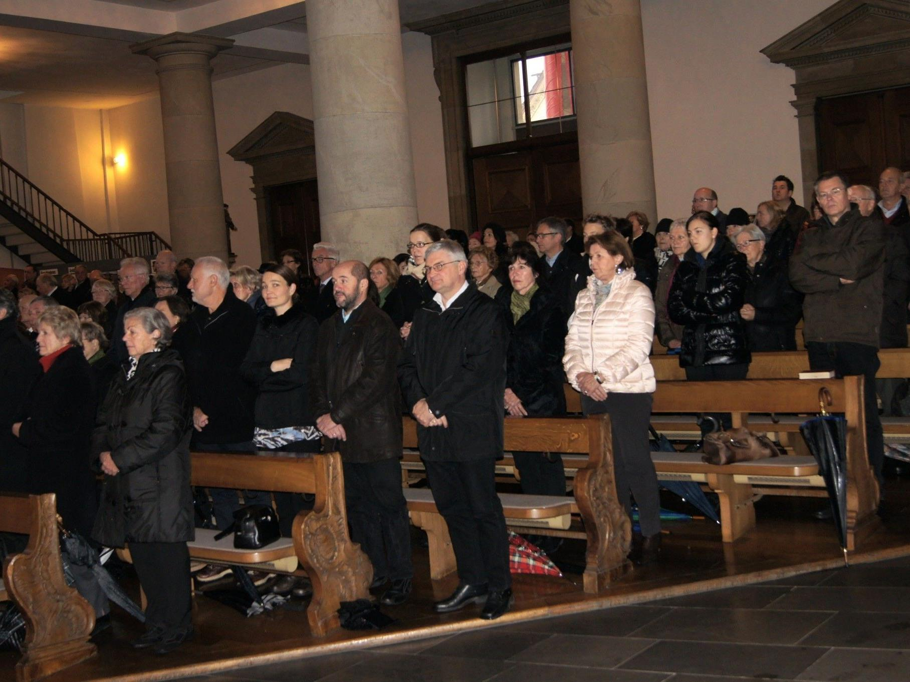 Gedenkgottesdienst in St. Martin für Carl Lampert.