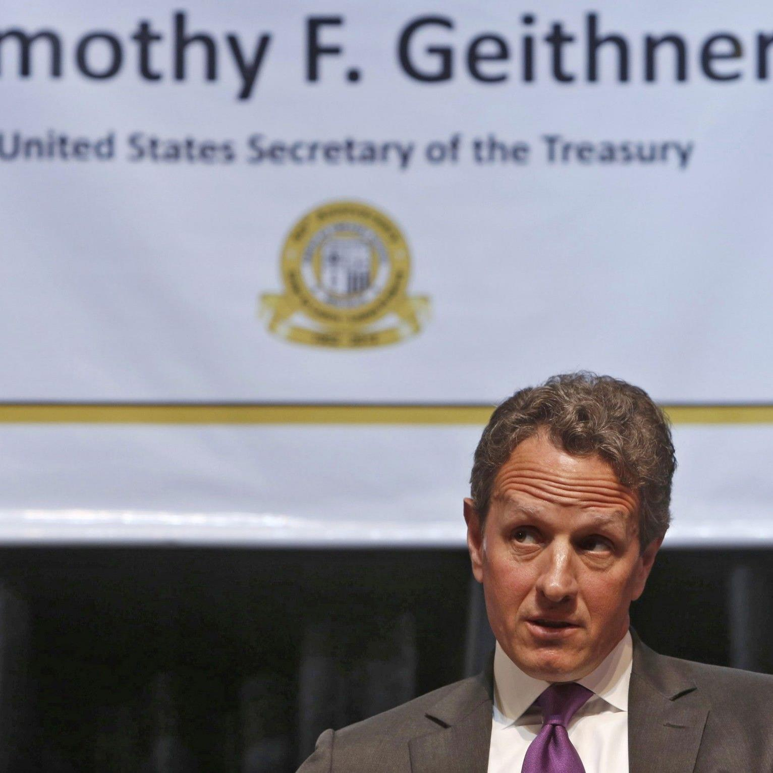 Geithner tritt mitten im Haushaltsstreit nicht mehr an.