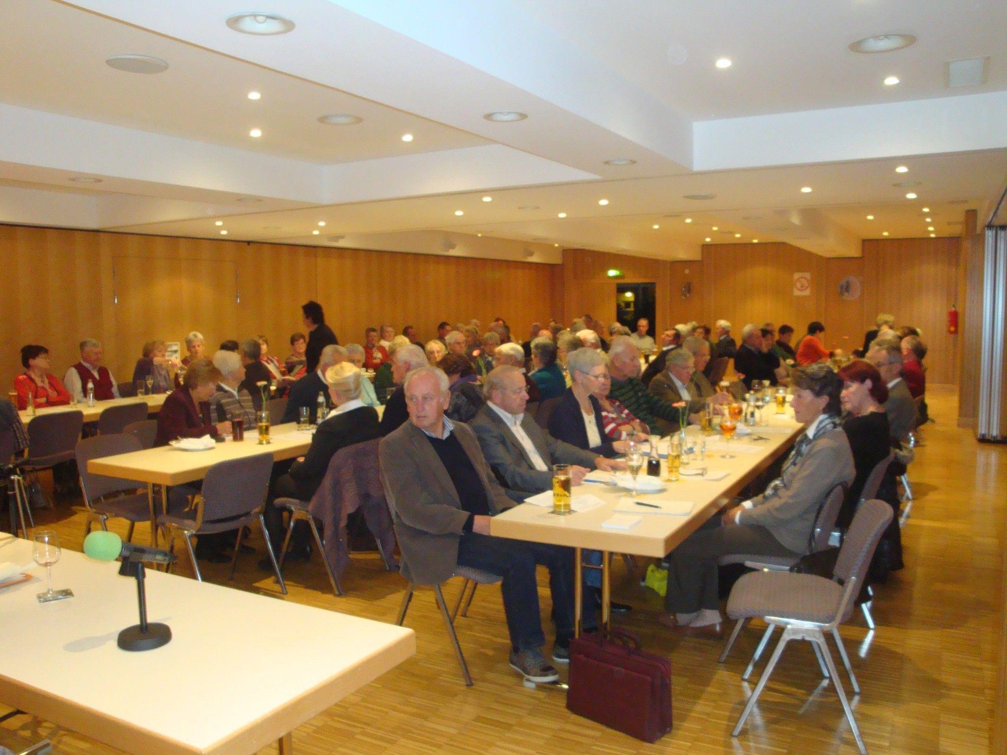 Generalversammlung des Nenzinger Seniorenbundes.