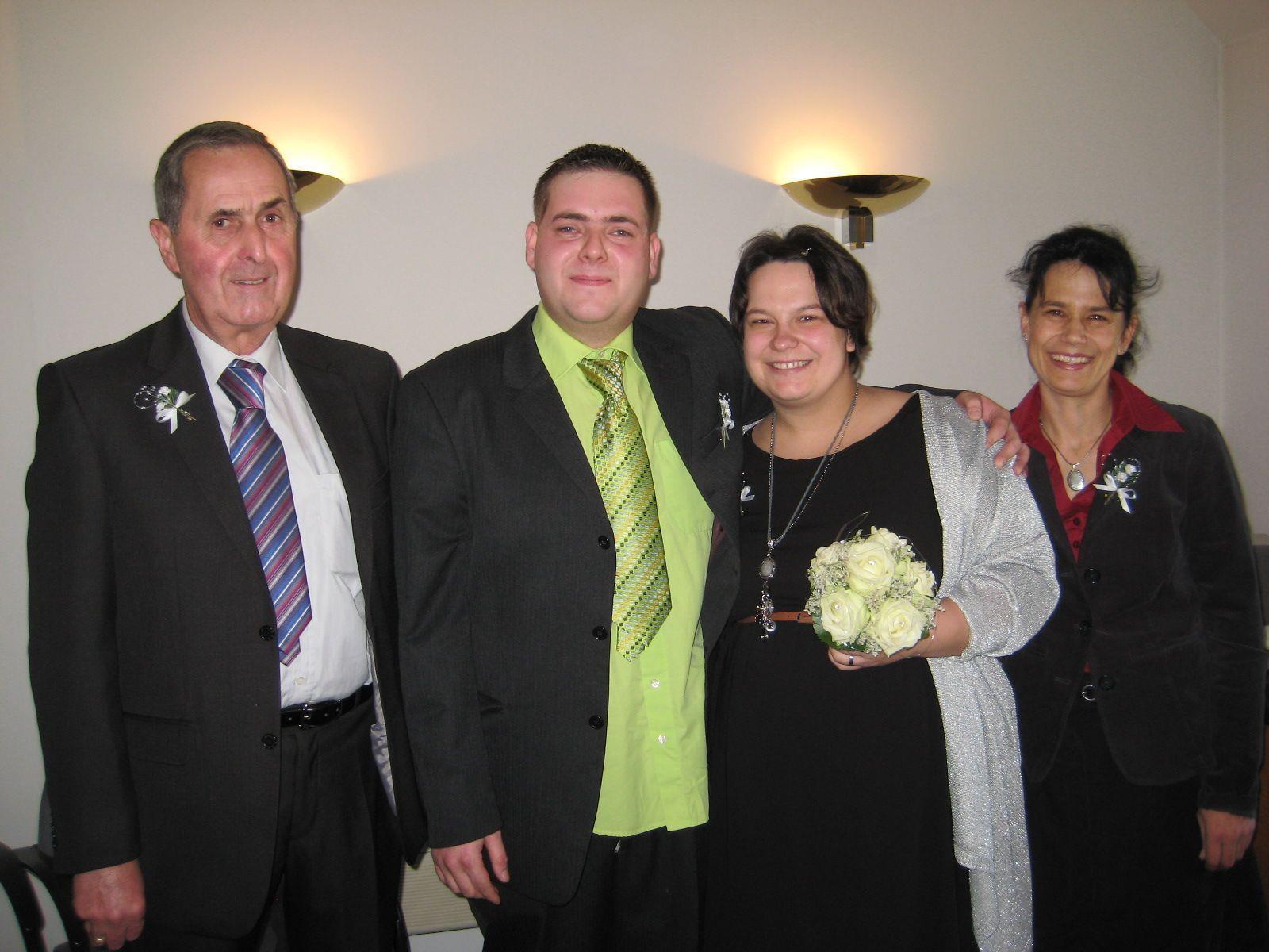 Nathalie Vaitl und Andreas Hartl haben geheiratet.