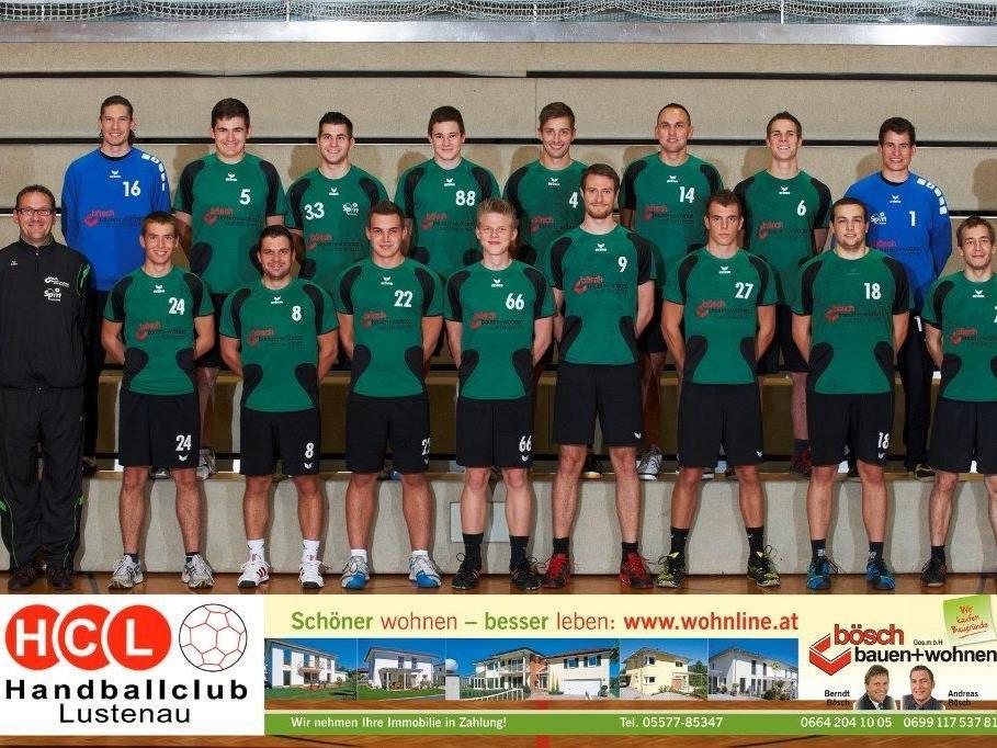 Die erste Herrenmannschaft des HC Lustenau