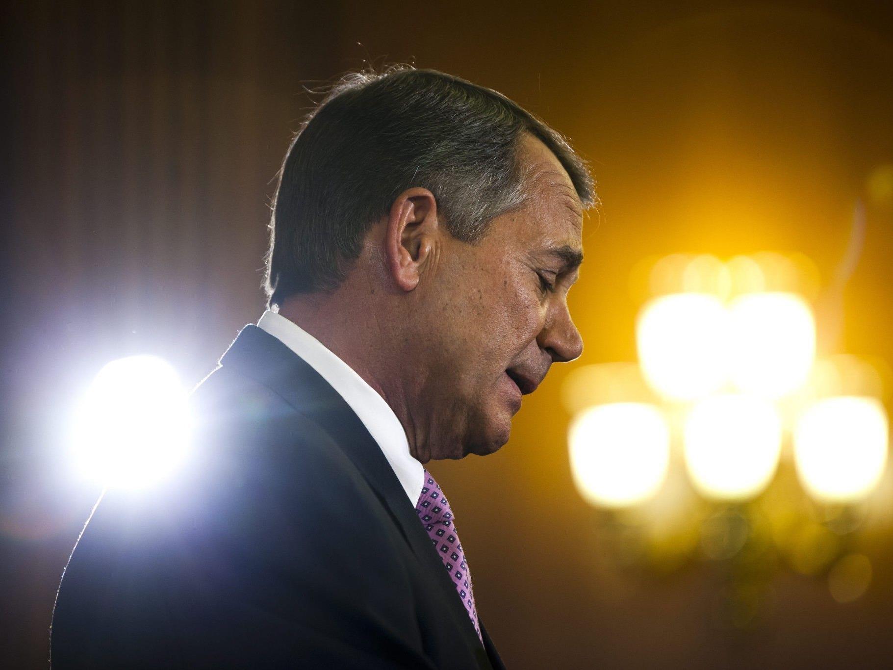 Kippen des Gesetzes war eines von Romneys Wahlversprechen.