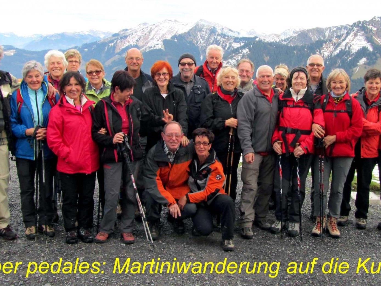 Team per pedales Martiniwanderung 2012