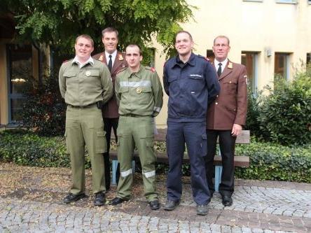 Bild v.l.n.r. Moosbrugger Pirmin, Hosp Andreas, Mallinger Andreas, Banzer Stefan, Hubert Vetter