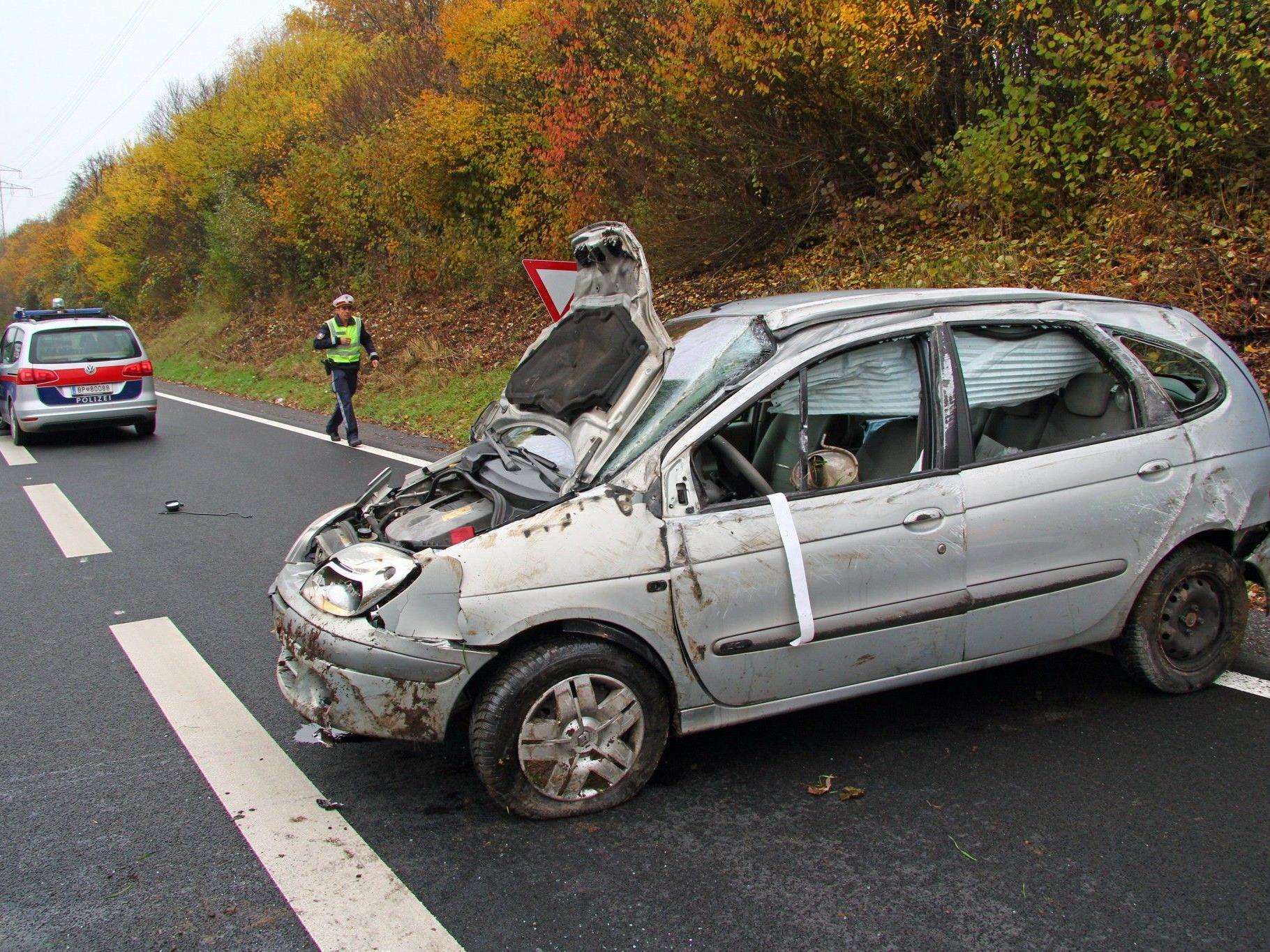 Verkehrsunfall auf der A14 bei Wolfurt