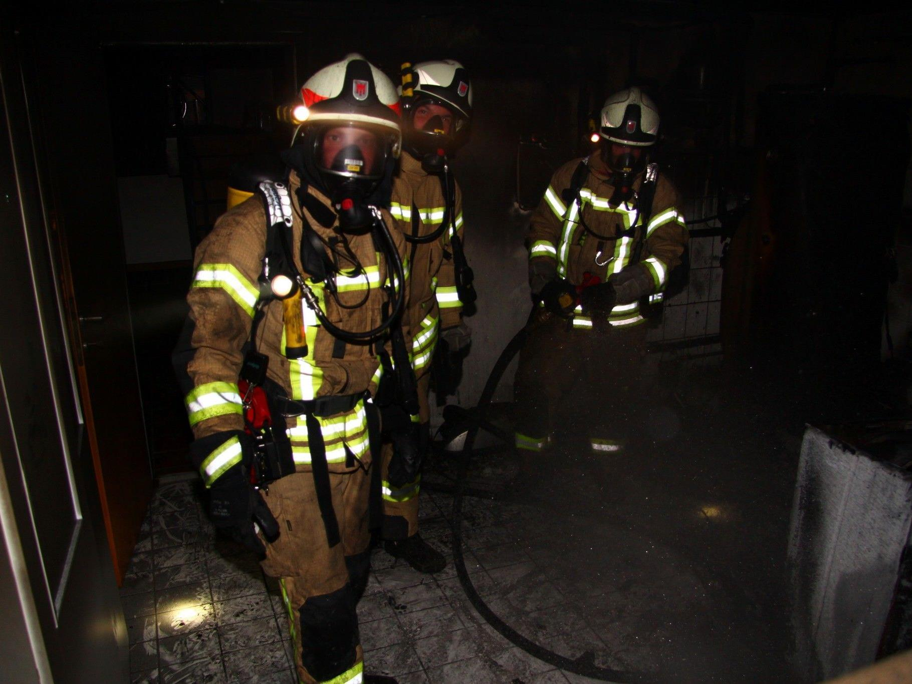 Die Feuerwehr in Lauterach war im Großeinsatz.
