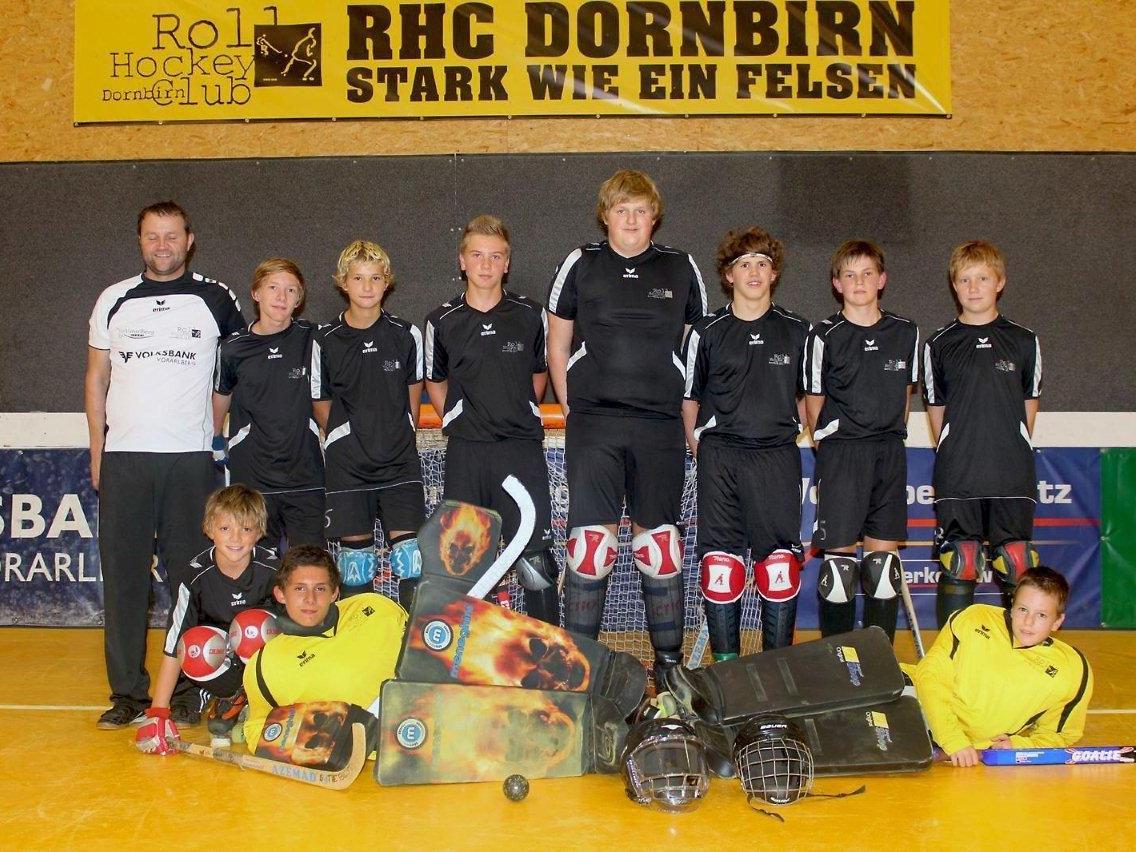 Die Unter-15-Jährigen des RHC Dornbirn zeigten eine sensationelle EC-Premiere.