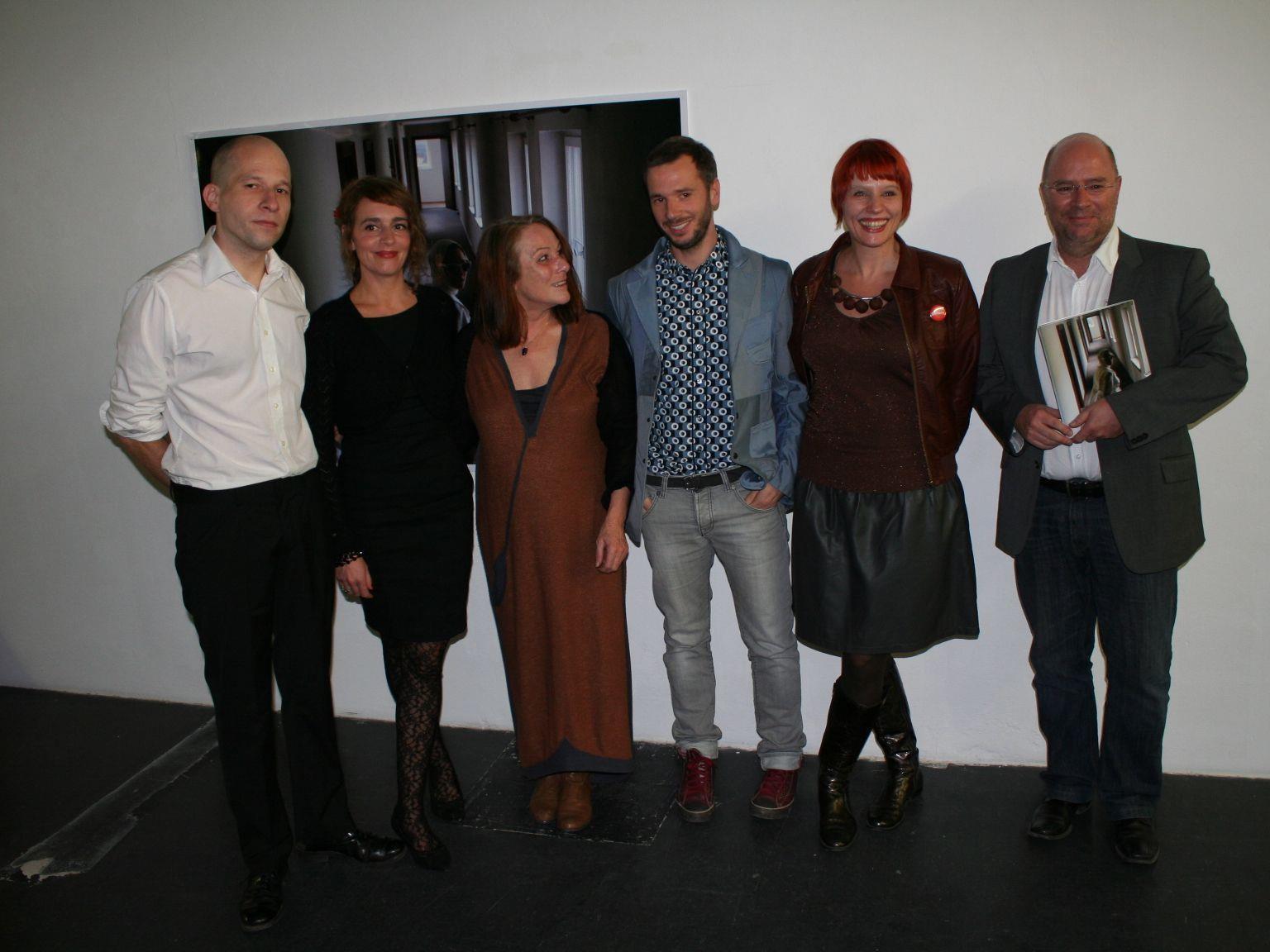 Stefan Geissler, Bella Angora, Lisi Hämmerle, Marko Zink, Michaela Stock, Andreas Rudigier (v.l.)
