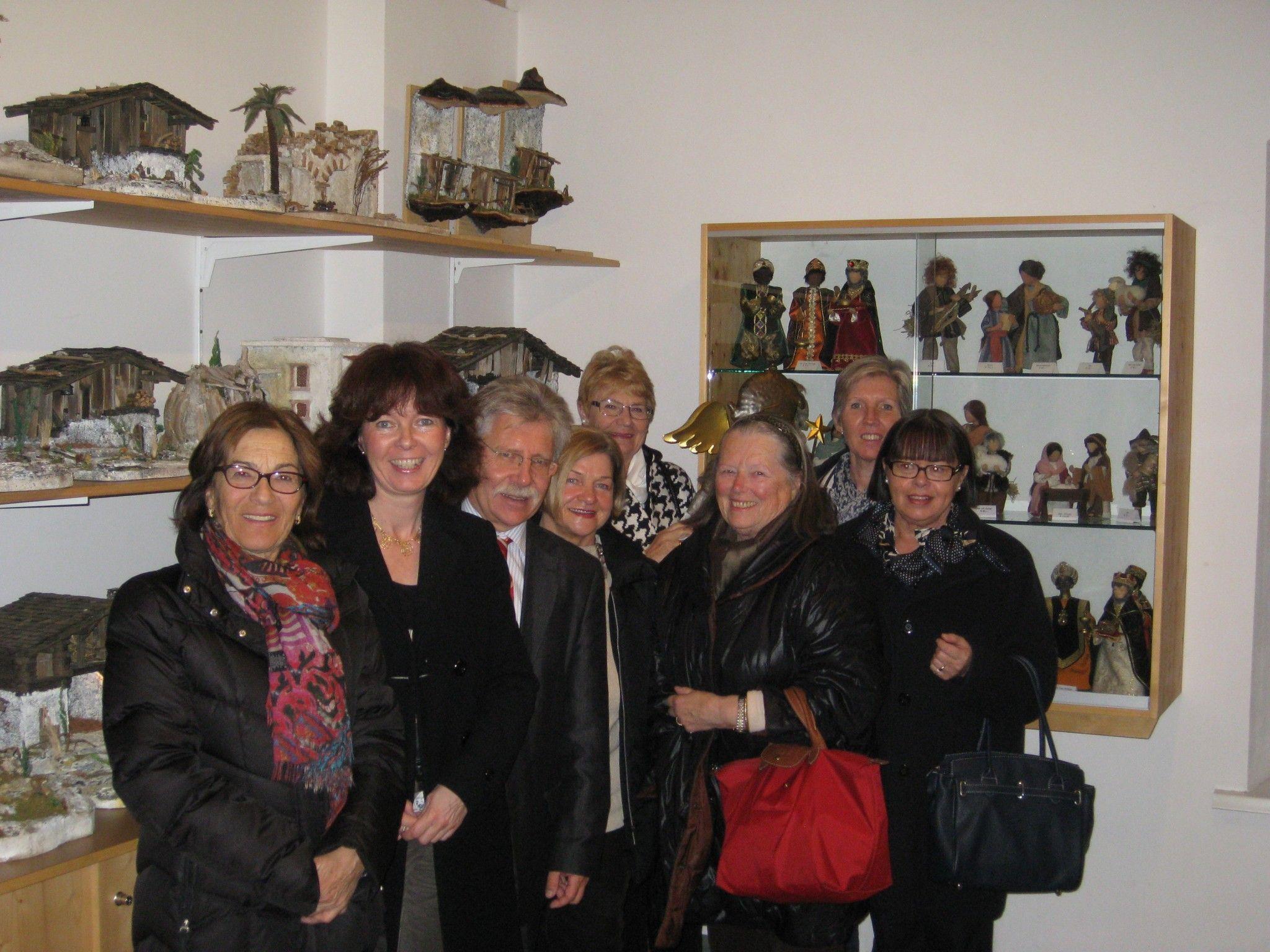 GUTA Bregenz-Stadt beim Besuch im Krippenmuseum
