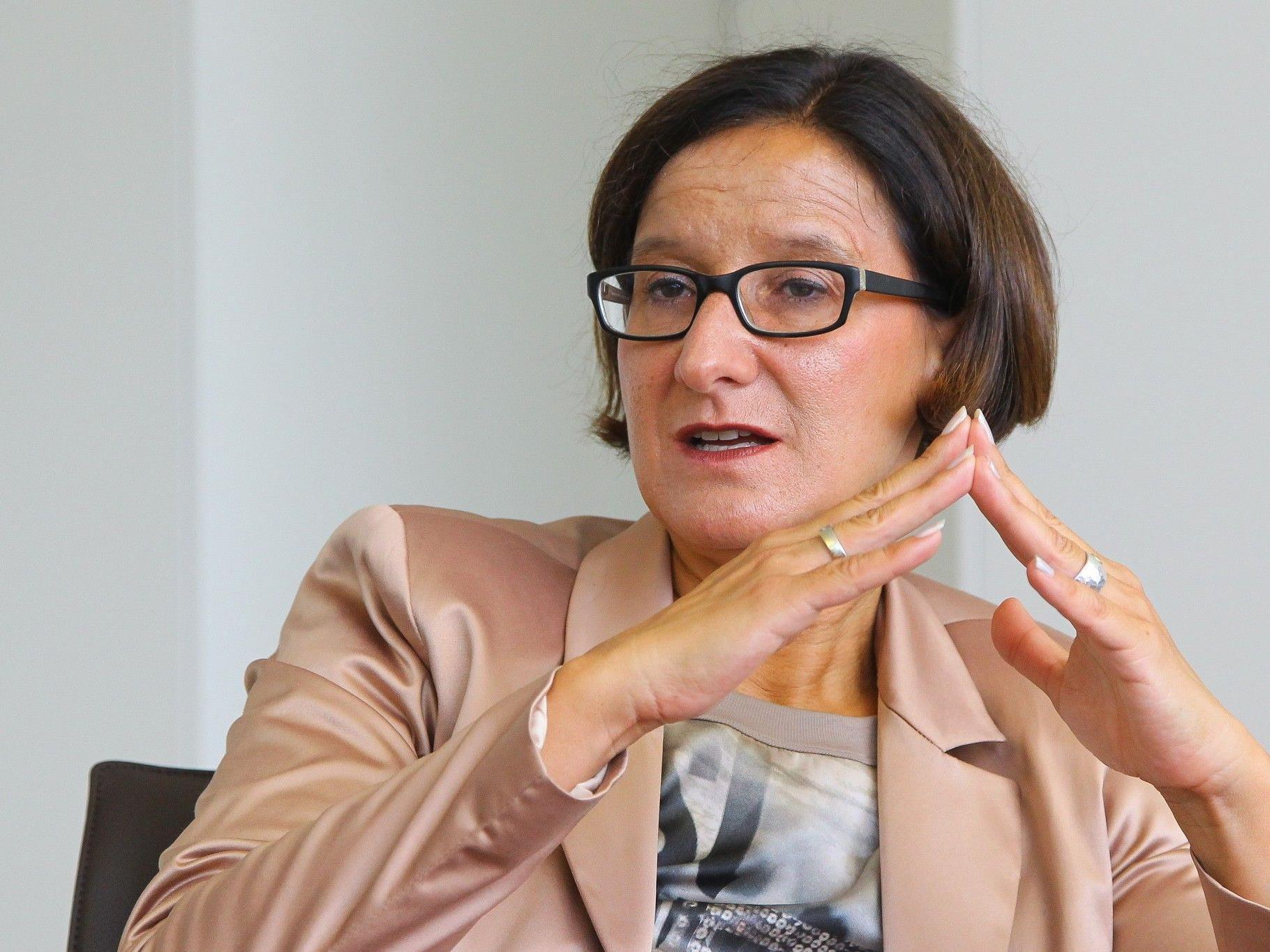 Innenministerin Mikl-Leitner auf Ländle Besuch
