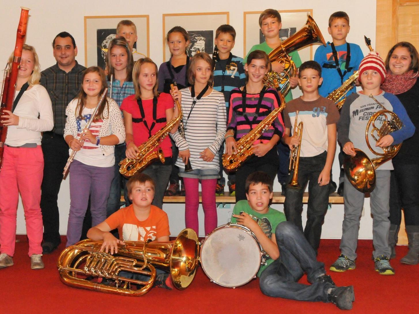 Jungmusik Reuthe 2012