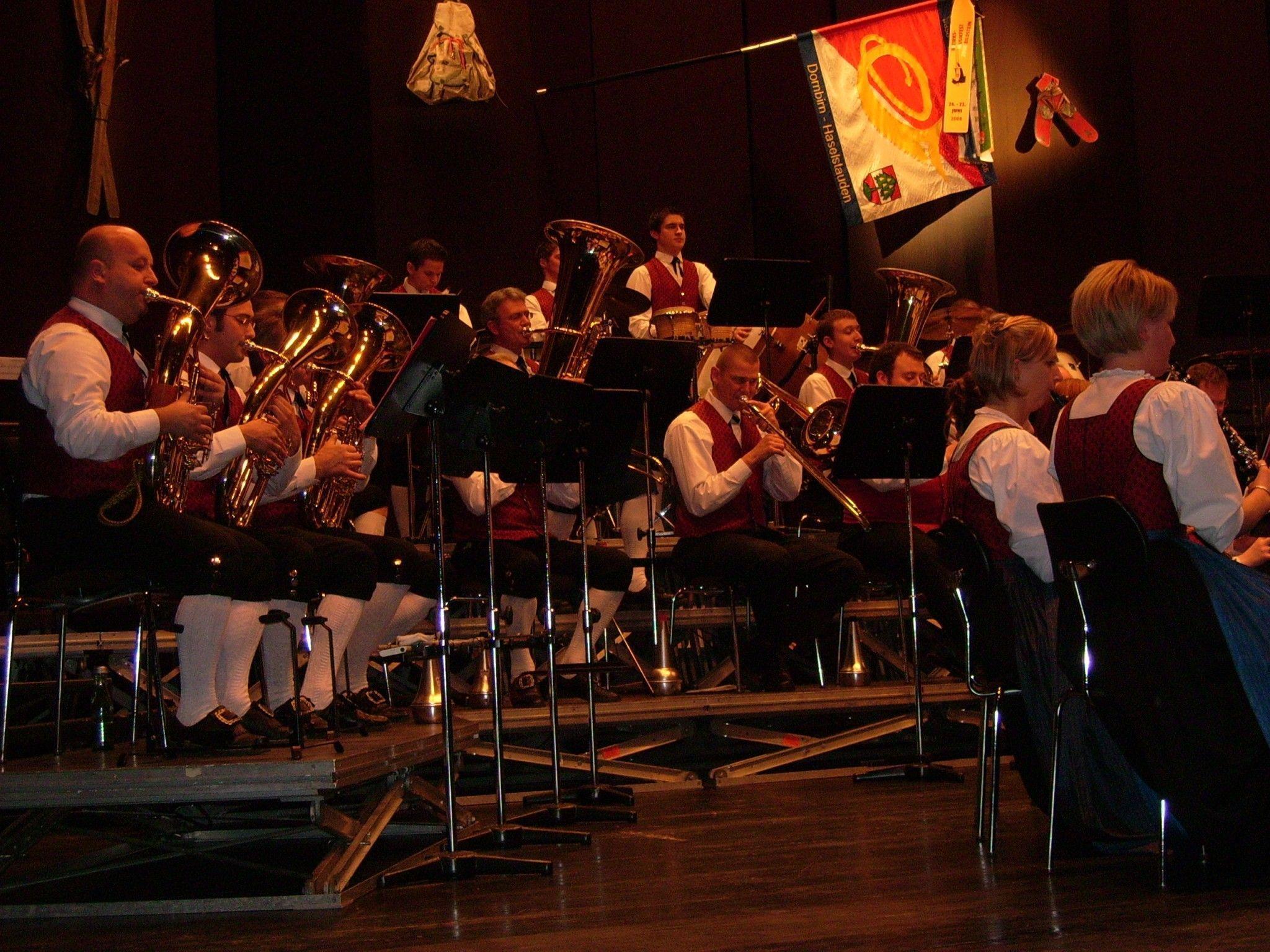 Die Stadtkapelle Haselstauden lädt am 24. November um 19:30 Uhr zum Konzert ins Kulturhaus.