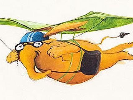 Der kultige Lesofant ist Schirmherr beim jährlichen Lesofantenfest der Städtischen Büchereien
