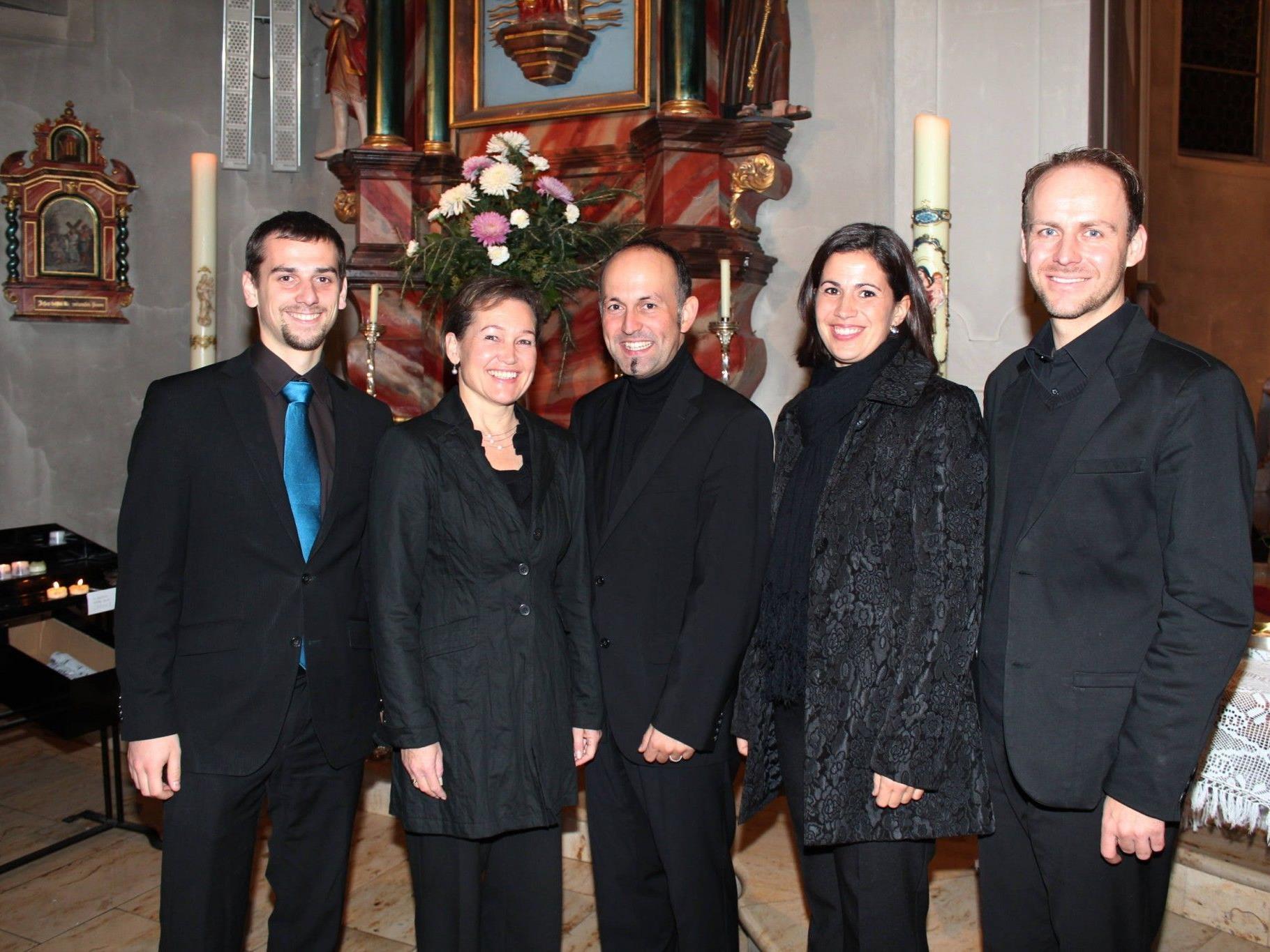 Raphael Höhn, Birgit Plankel, DKM Benjamin Lack, Martina Gmeinder und Matthias Haid.
