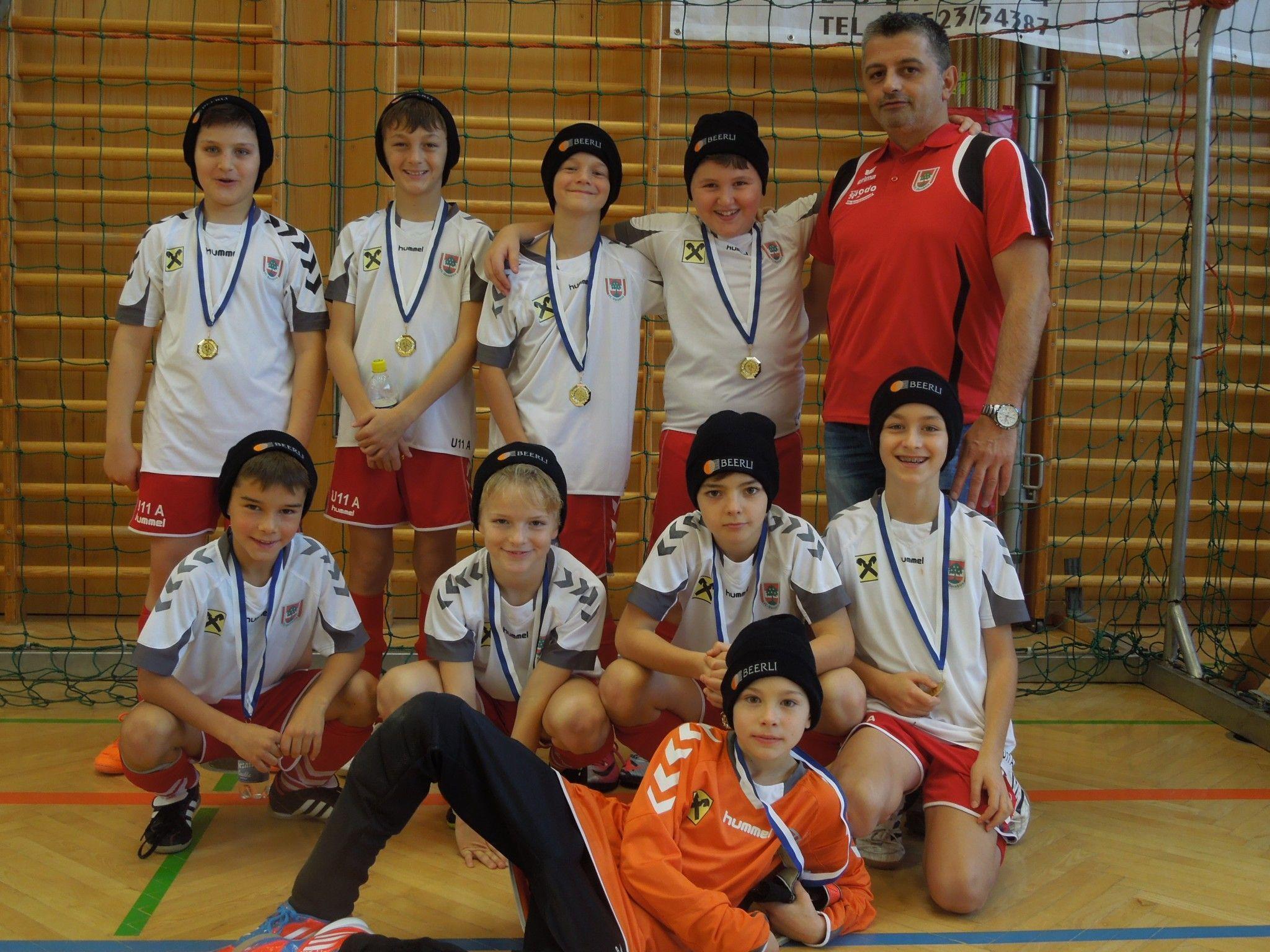 Das erste Hallenturnier in Koblach gewann die U11 Mannschaft des FC Dornbirn souverän.