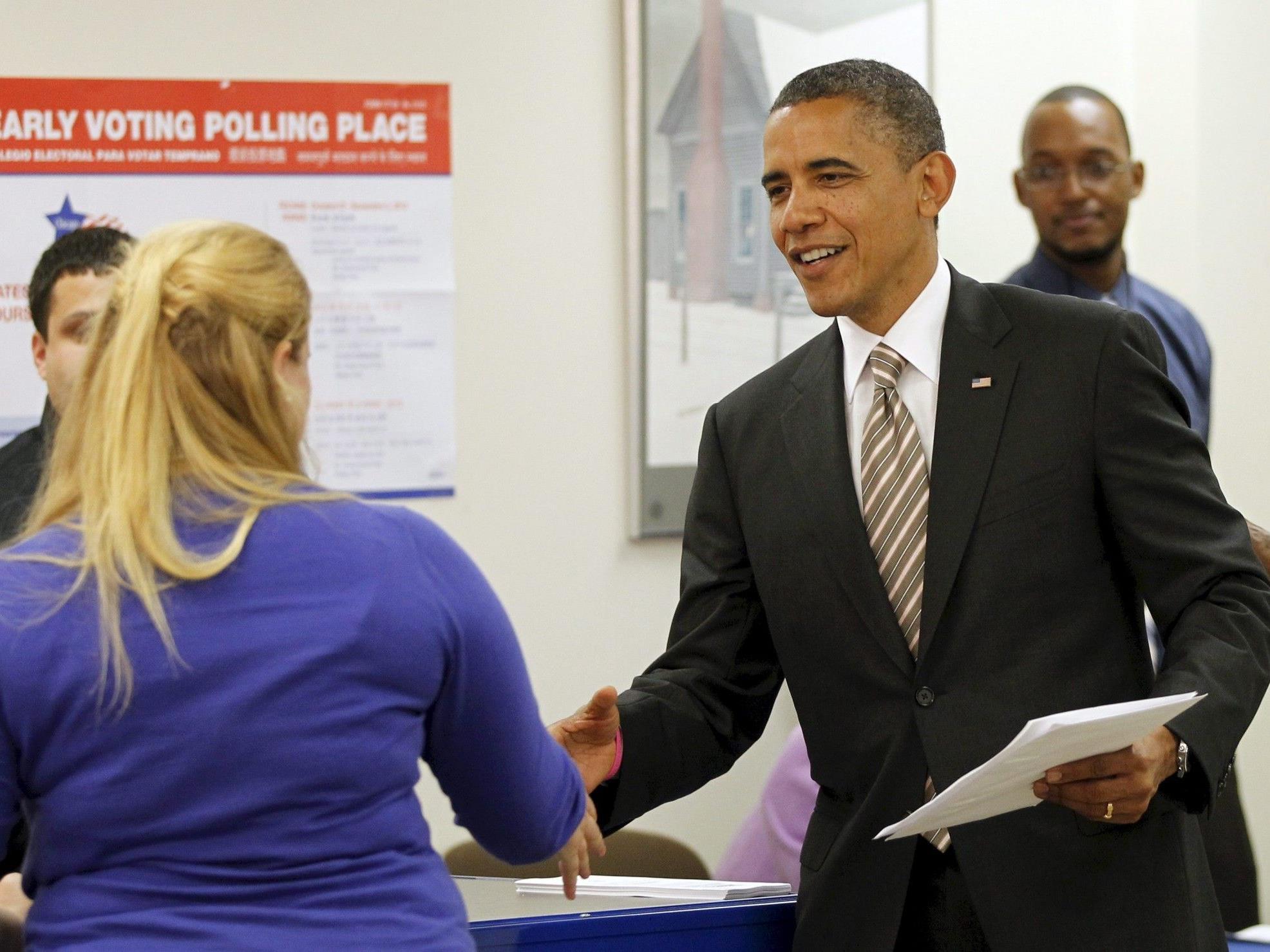 """Barack Obama: """"Ihr habt mich zu einem besseren Präsidenten gemacht""""."""