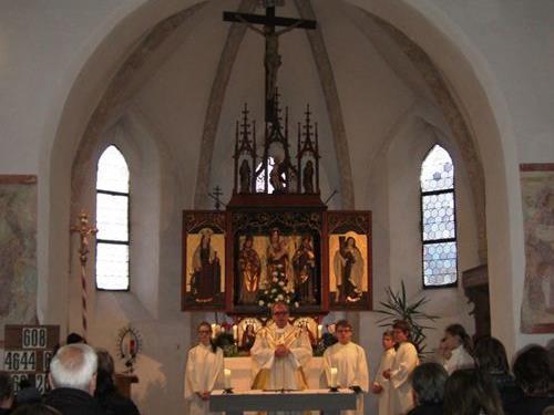 Patroziniumsgottesdienst in Beschling.