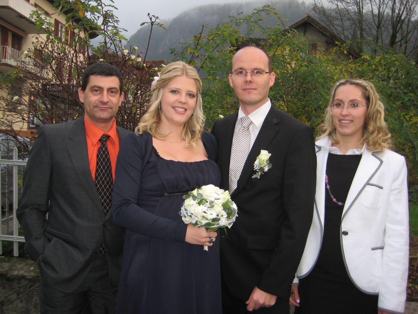 Petra Schwärzler und Thomas Perfler haben geheiratet.