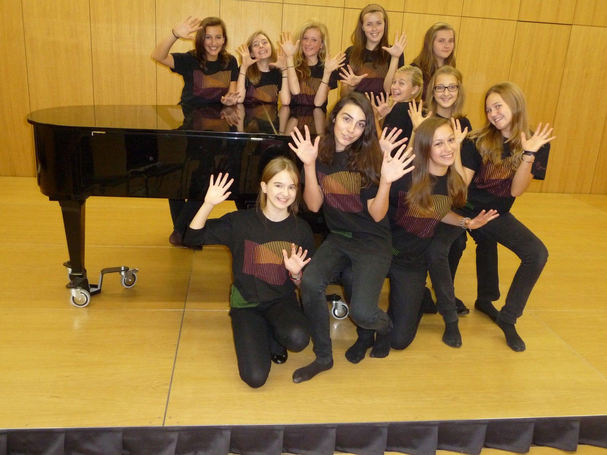 Der Projektchor der Musikhauptschule Götzis