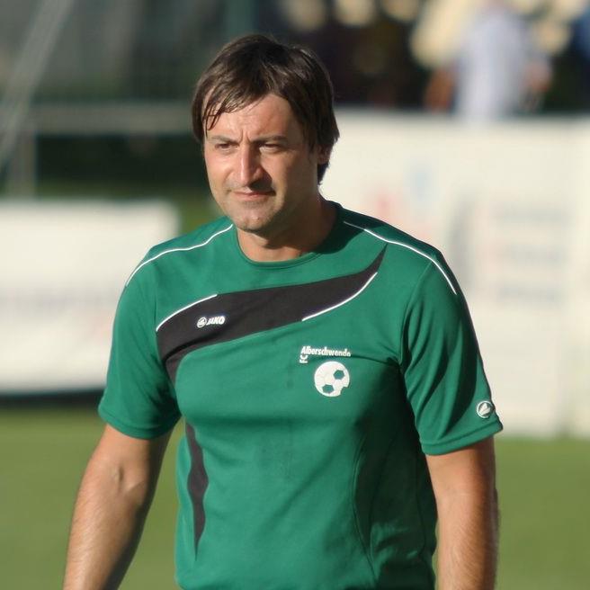 Alberschwende-Trainer Goran Milovanvoic hofft abermals auf eine Cupüberraschung.