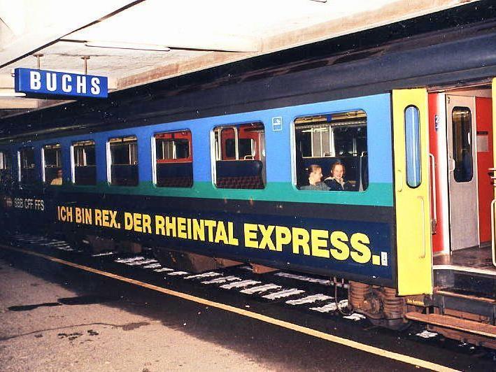 Der Rheintalexpress soll künftig mit einem Gästebetreuer fahren