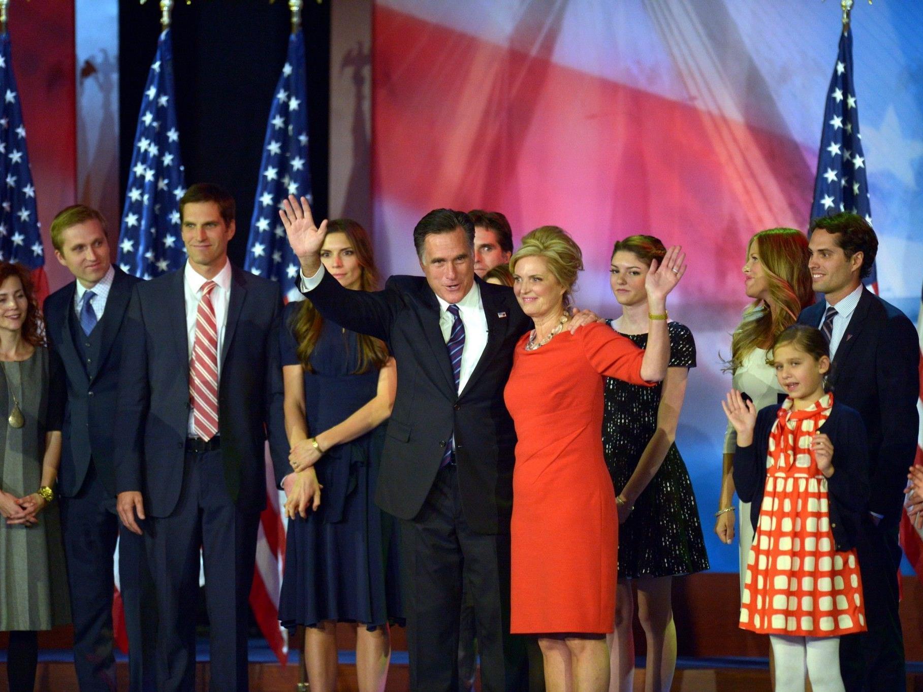 Romney war für viele Amerikaner doch zu radikal.