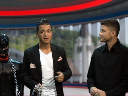 Andrea Sgabalieri sorgte mit seinem Auftritt für viel Furore