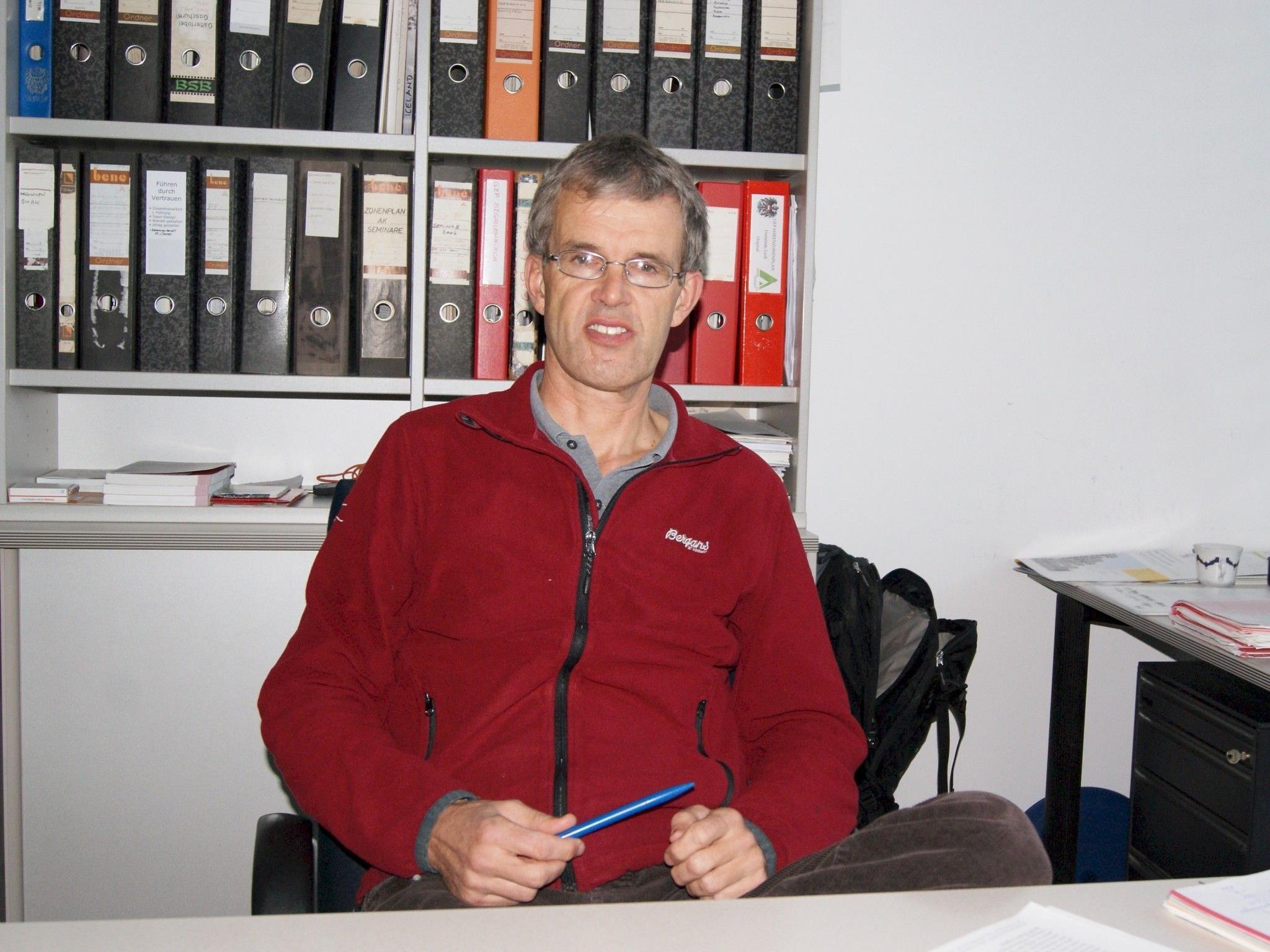 Wolfgang Schilcher leitet die Wildbach- und Lawinenverbauung im Bezirk Bludenz.