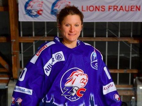 Lokalmatadorin Eva Schwärzler gastiert mit den ZSC Lions erneut in Dornbirn
