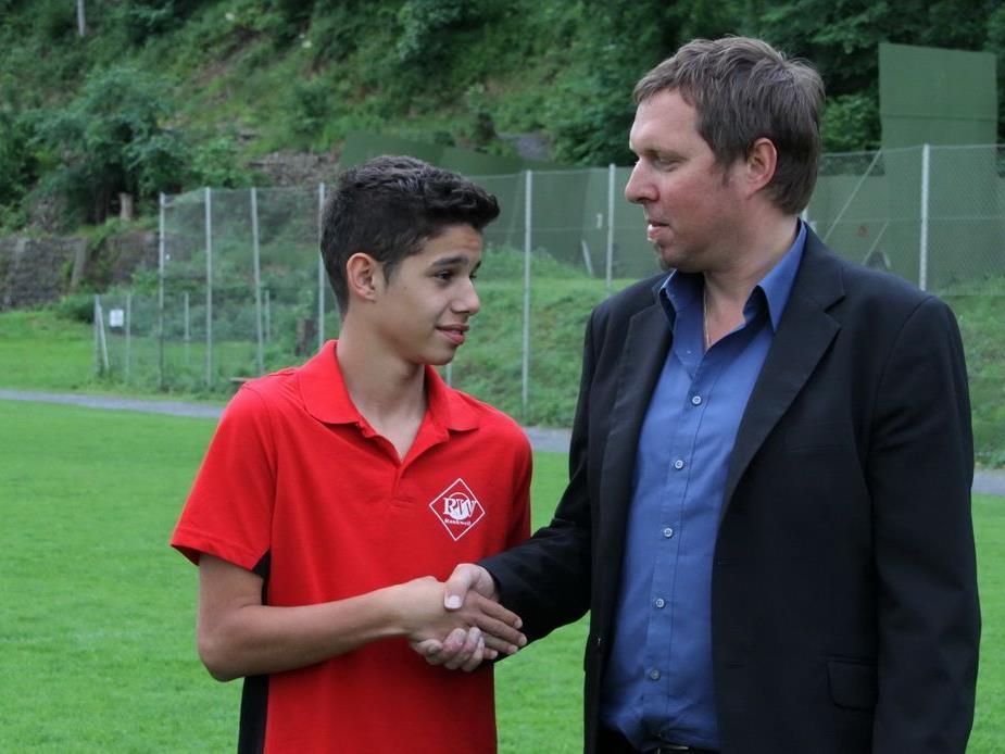 Ex-RW-Torjäger Ceyhun Tüccar kommt dem Ziel Fußballprofi bei Rapid Wien schon viel näher.