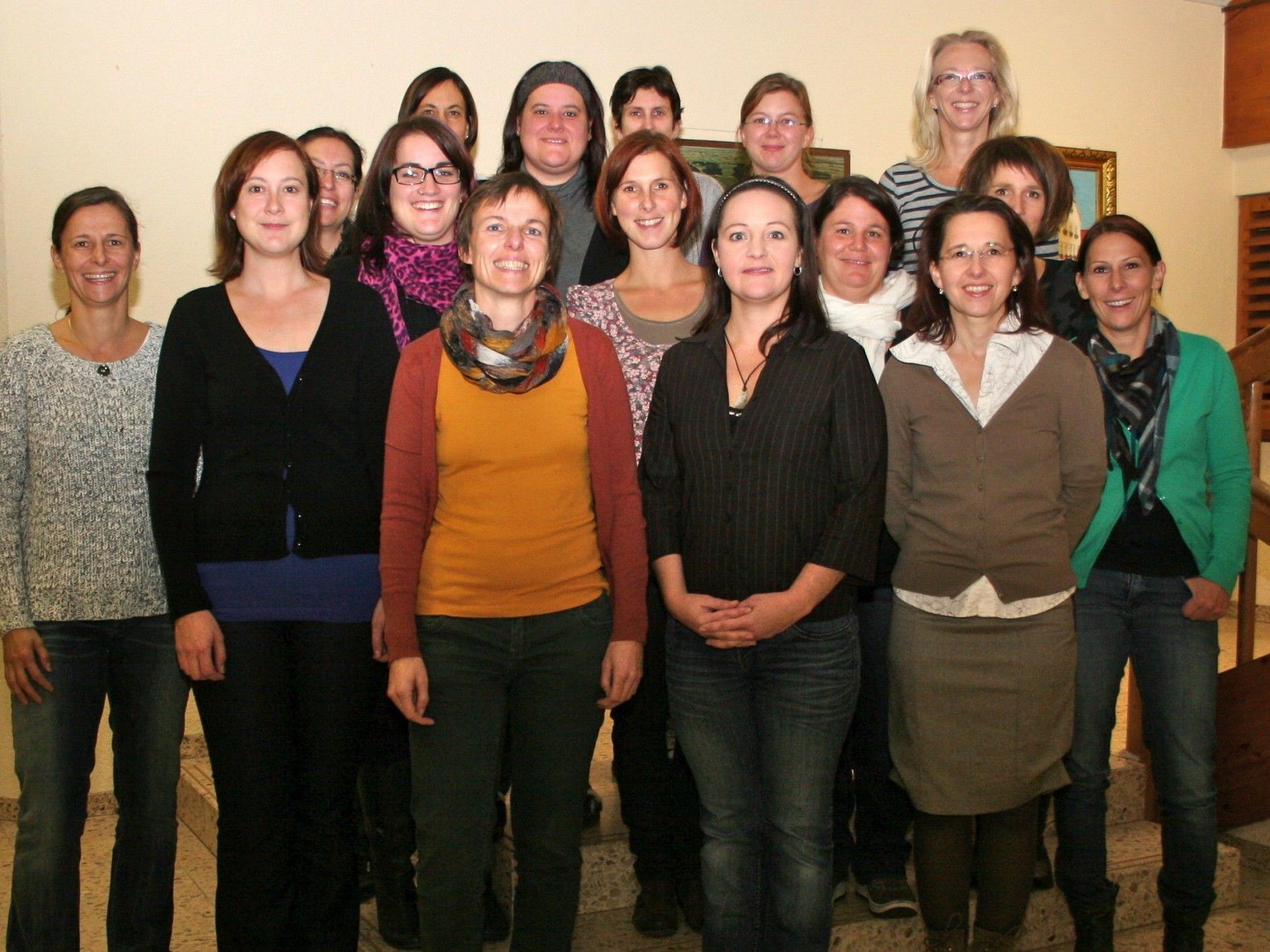 Das neue Team des Elternvereins der Volksschule Nofels