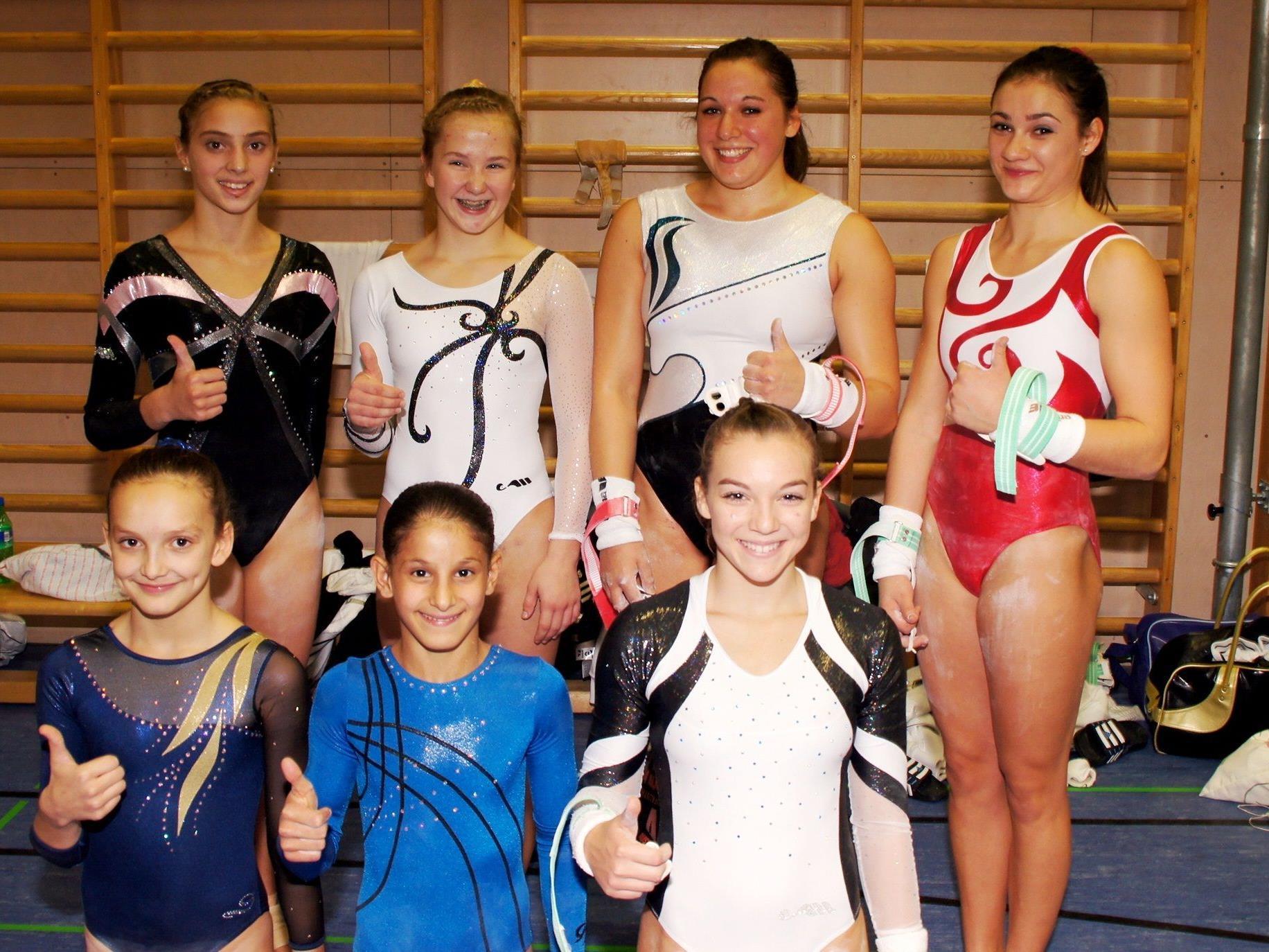 Selina, Kerstin, Katharina, Erja, Tamara, Elisa, Georgiana