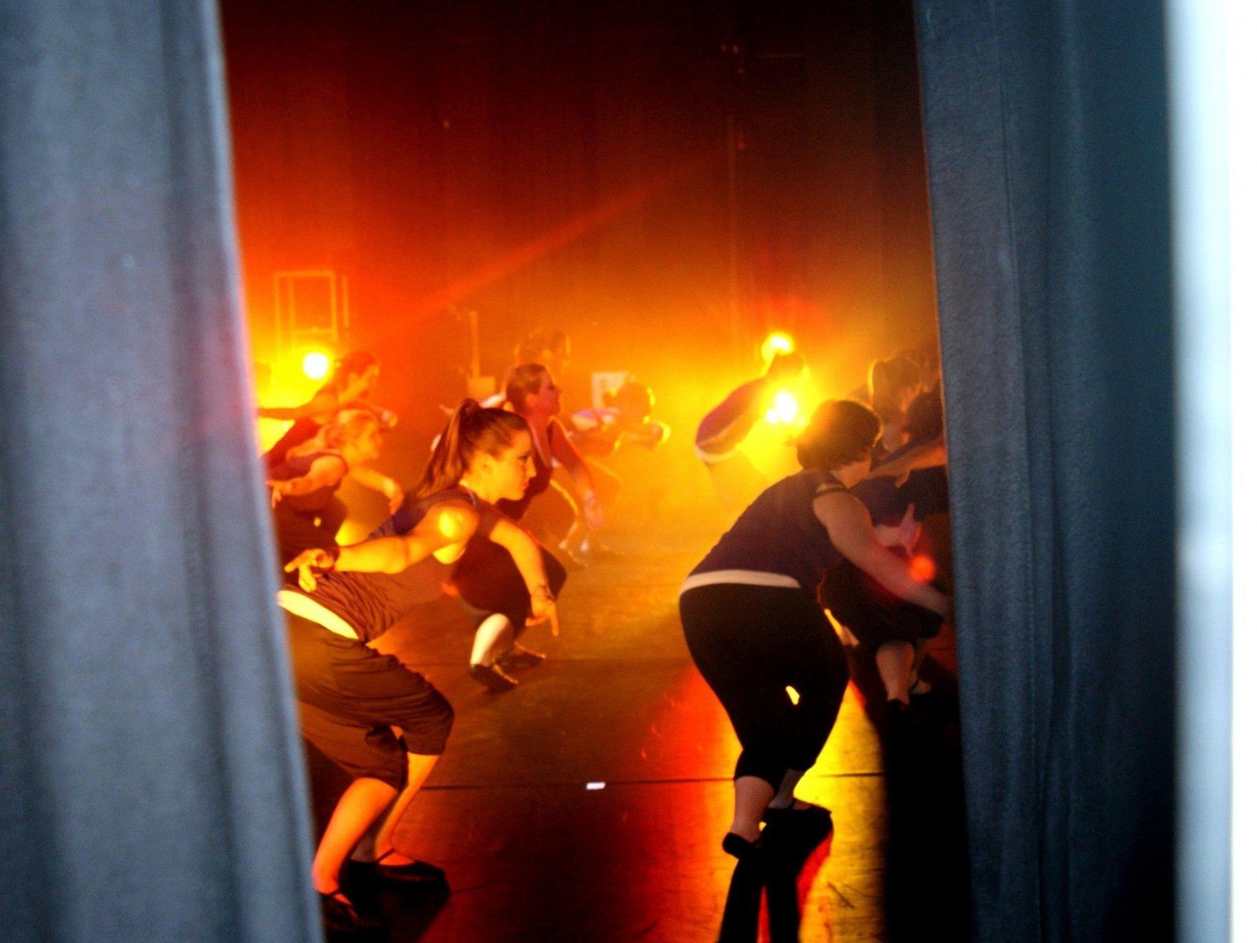 Tanzen bis der Vorhang fällt!