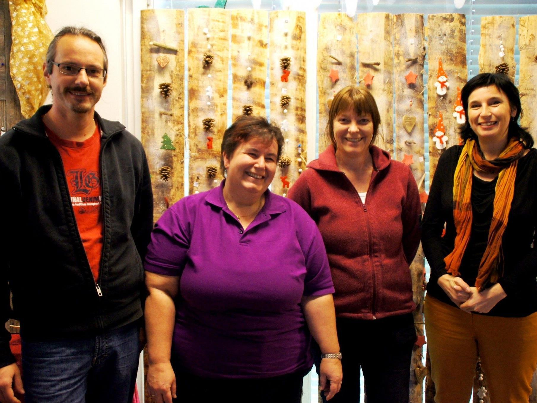 Jürgen, Renata, Renate und Lisi