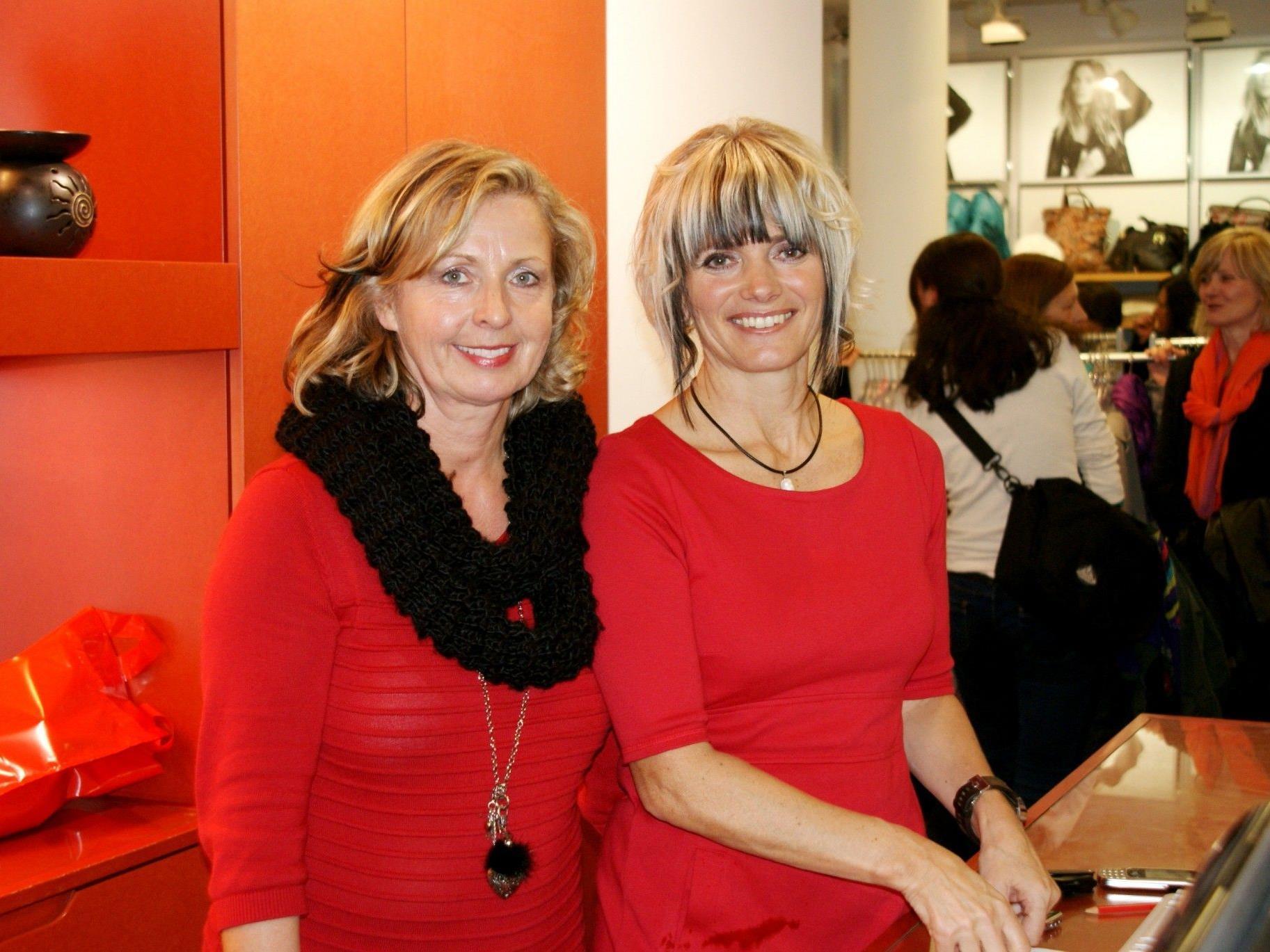 Hilde und Edith im Modefieber