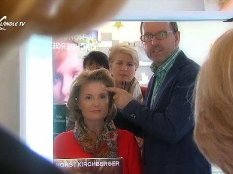 Star Visagist Horst Kirchberger zu Gast im Ländle