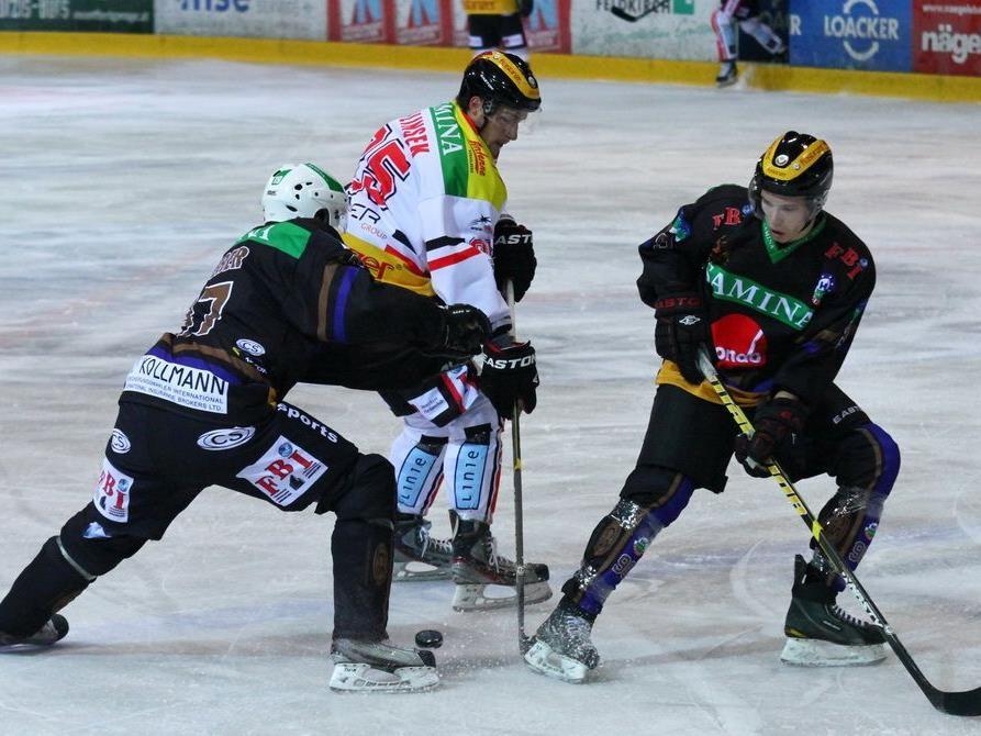 VEU Feldkirch trifft am Samstag in der Vorarlberghalle auf den Leader Zell am See.