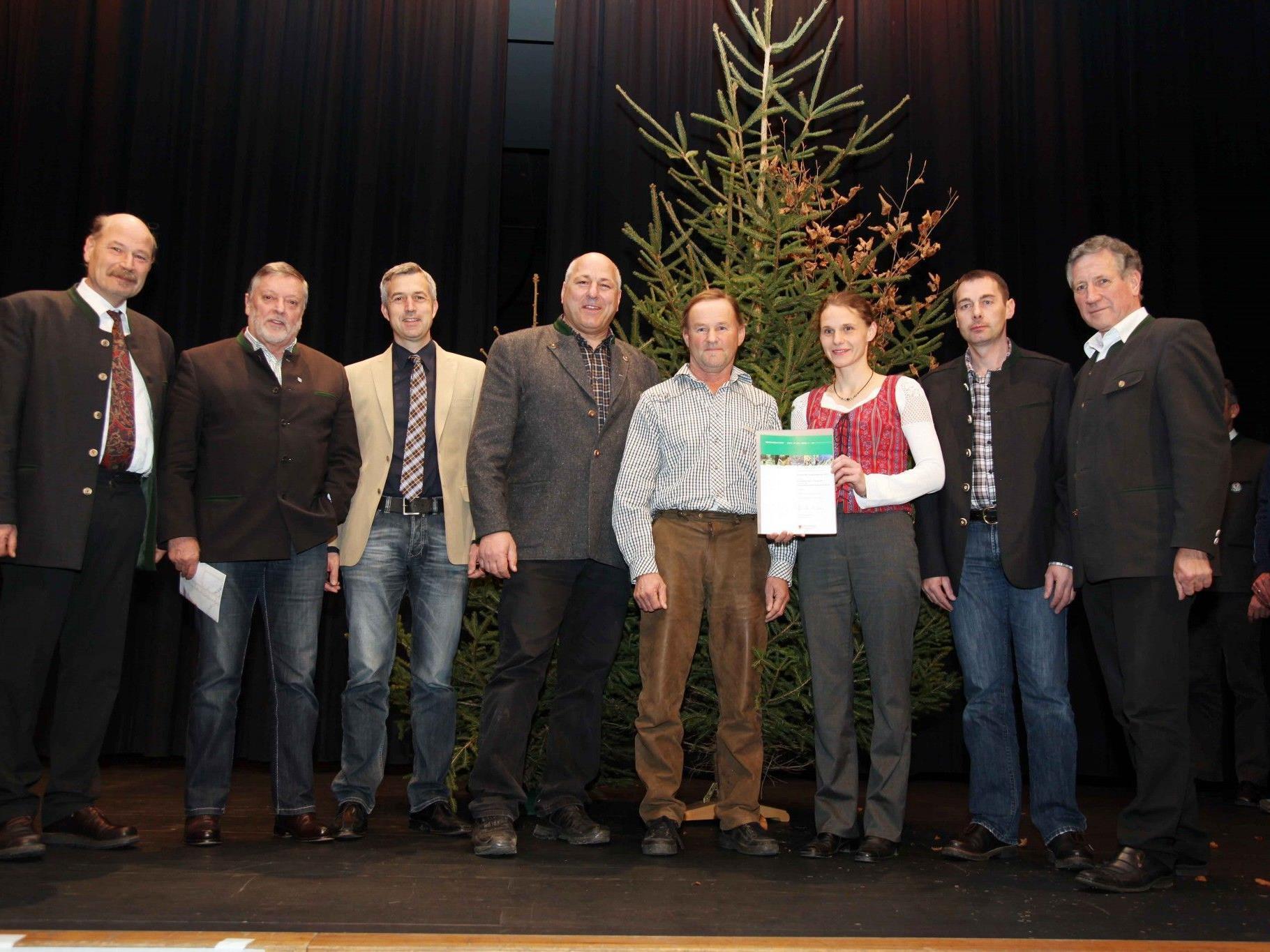 Der Stand Montafon Forstfonds wurde mit dem Vorarlberger Schutzwaldpreis 2012 ausgezeichnet.