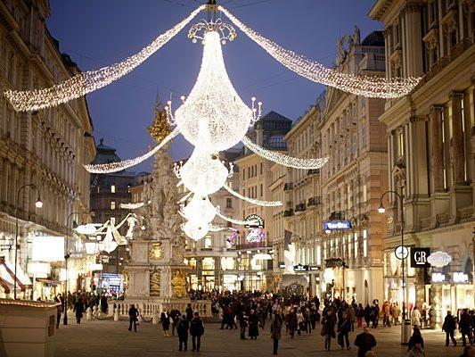 Ab Wann Weihnachtsbeleuchtung.Wiens Weihnachtsbeleuchtung Wird Ab Freitag Erstrahlen Vienna Online