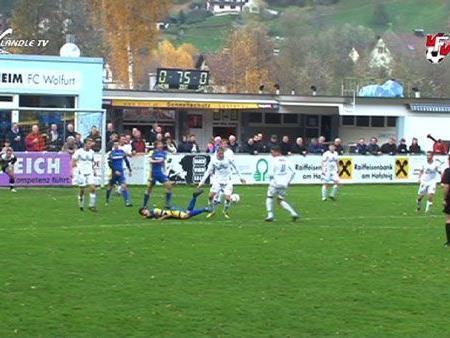 Der FC Wolfurt feierte einen knappen Heimsieg
