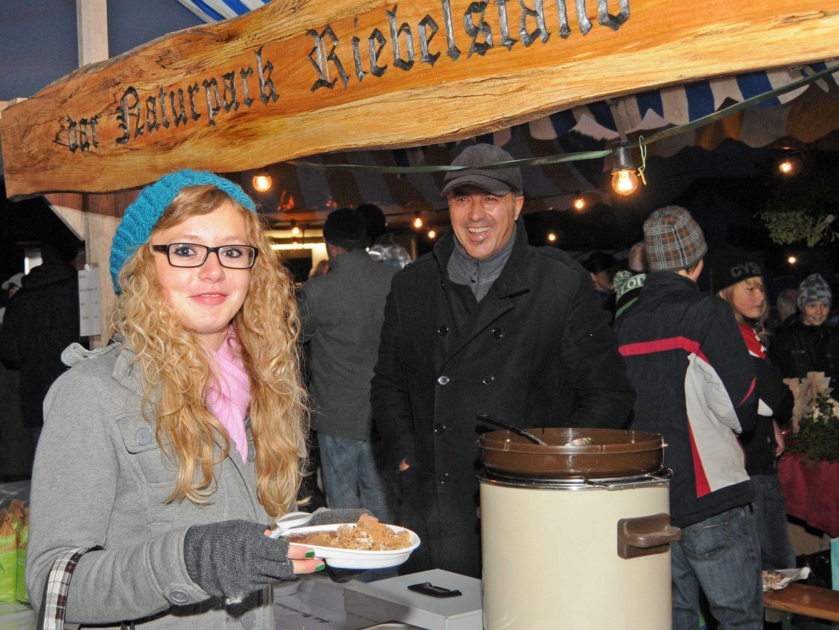 """Beim Adventmarkt in Höchst gibt es am 1. Dezember Riebel vom Naturpark """"Alter Rhein"""""""