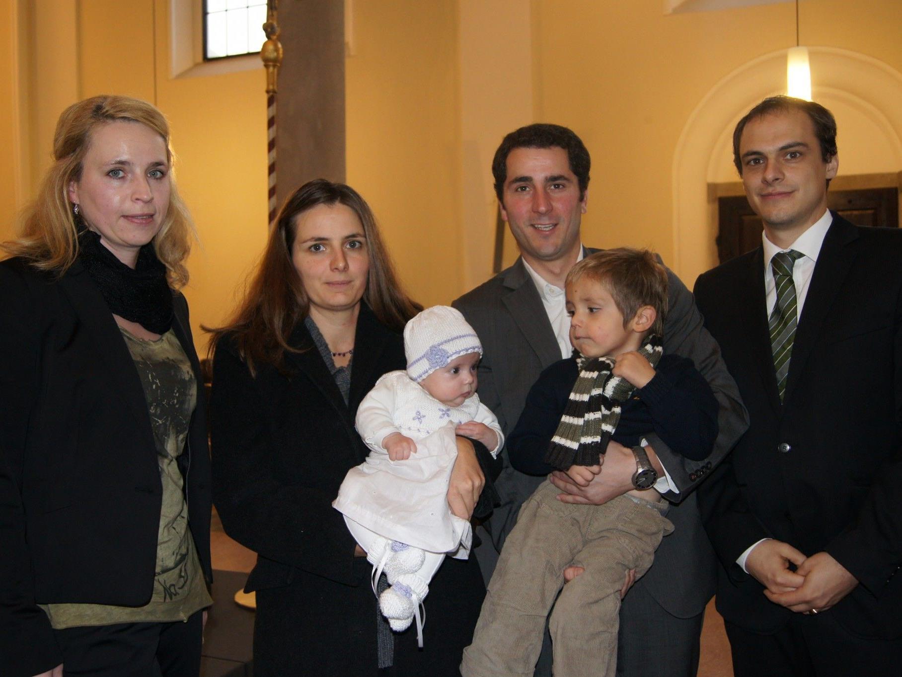 Taufe von Anika Kalb