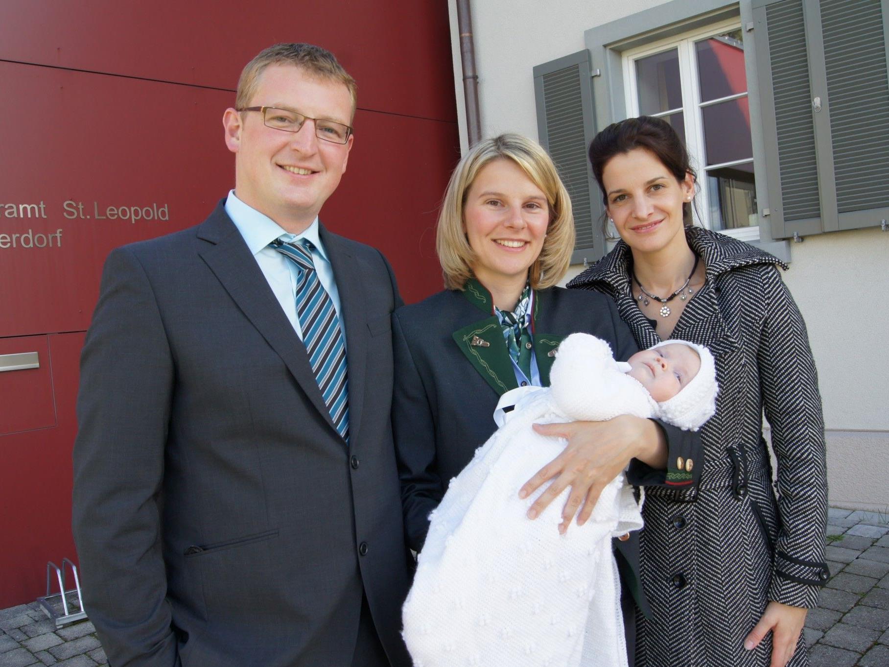 Taufe von Anja Kainz in der Katharine-Drexel-Kapelle