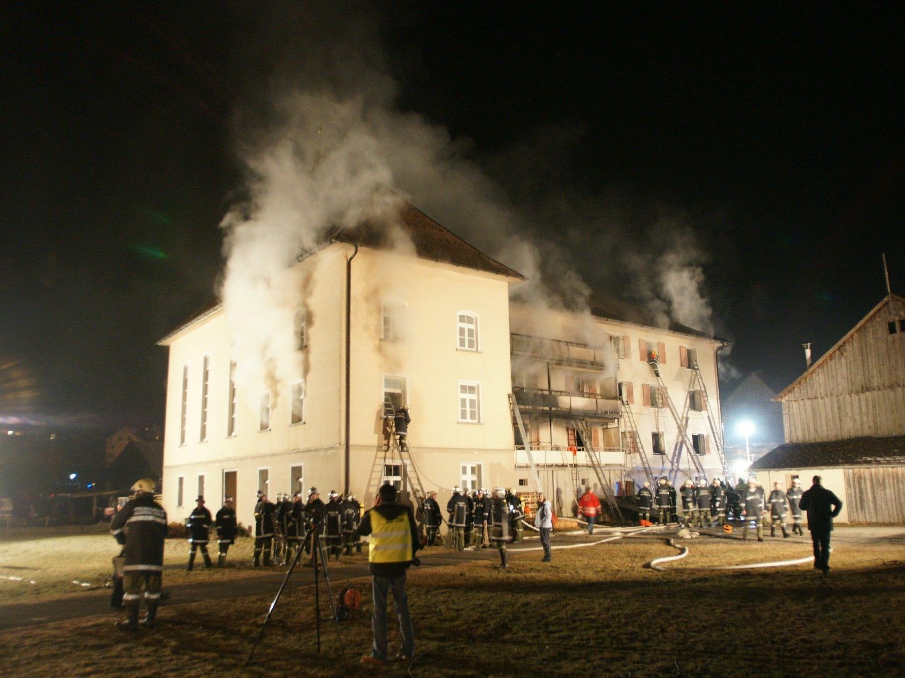 Die tragische Brandkatastrophe in Egg forderte im Jahr 2008 elf Menschenleben.