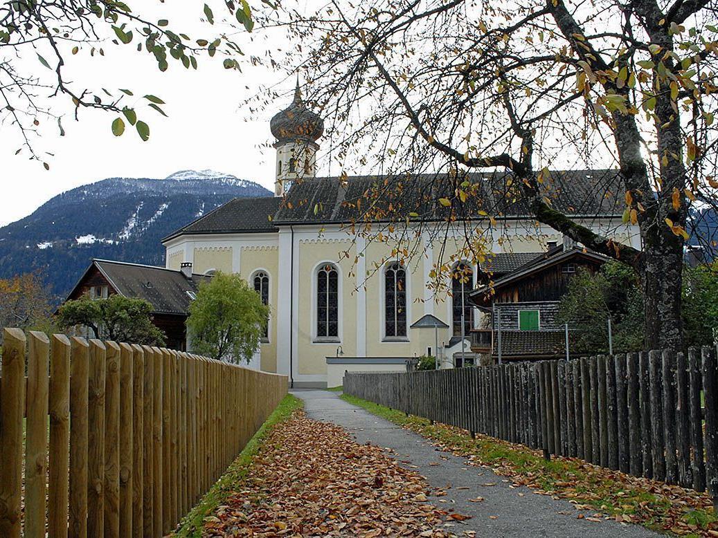 Pfarrkirche Schruns am 31. Oktober 2012
