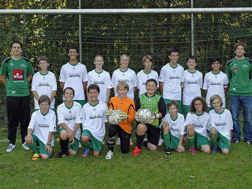 Die Spielgemeinschaft Montafon U13 gewann die Herbstmeisterschaft 2012.