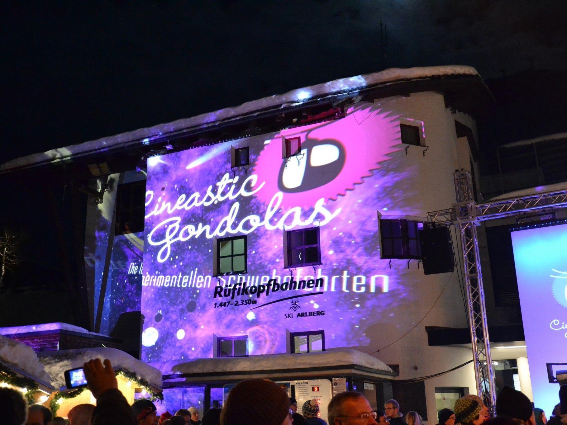 Gondelkino, Visual Arts und DJs am 8. Dezember in der Rüfikopfbahn