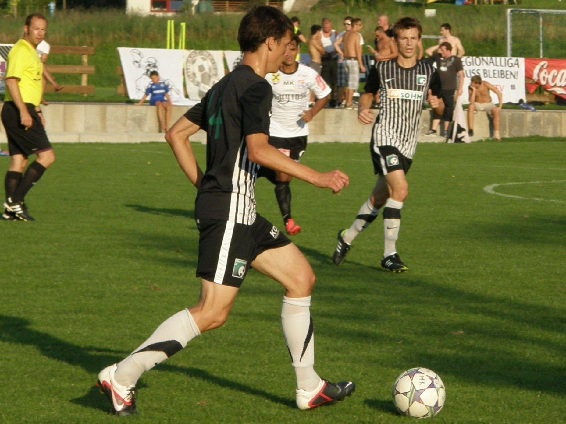 Die Alberschwender Kicker möchten auch gegen Bizau ihre Heimstärke ausspielen.