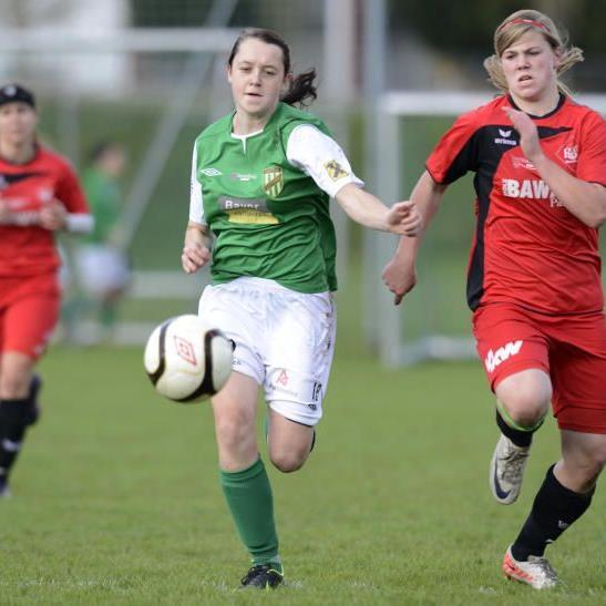Sabrina Greinix spielt bei der SPG FC Lustenau/Austria Lustenau und das noch sehr lange.