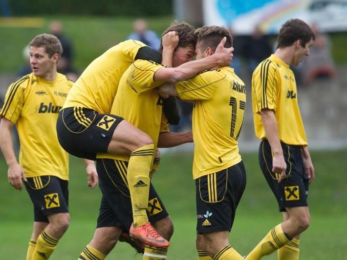 FC Höchst überwintert auf dem ersten Tabellenplatz in der Vorarlbergliga